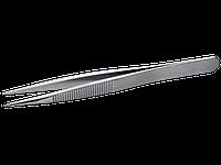 Высокоточный пинцет, прочные кончики, ручки c насечкой, длина изделия - 120,0 мм, Bahco, TL 00B-SA