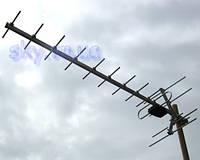 Внешняя антенна для эфирного и цифрового телевидения стандарта DVB-T2 Волна 1-11 Цифра