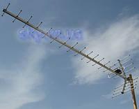 Внешняя антенна для эфирного и цифрового телевидения стандарта DVB-T2 Волна Макси Цифра 2-24