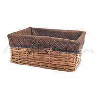 Корзина для белья плетеная прямоугольная Stuff L AWD02240871