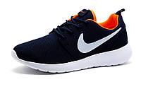 Кроссовки унисекс Nike Rosherun, темно-синие, (женские/подросток) р. 39 40, фото 1
