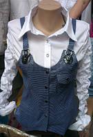 Блузка обманка!