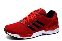 Кроссовки мужские Adidas Torsion, текстиль, красные, фото 1
