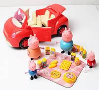 Свинка Пеппа - семья Свинки Пеппы и машина - ТМ 8808А