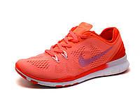 Кроссовки Nike Free Run 4.0 унисекс, коралловые, р. 37,5 38