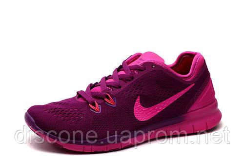 Кроссовки Найк Free Run 4.0 женские, подростковые, фиолетовые, р. 38