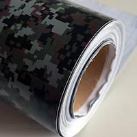 Пленка камуфляж «Марпат» Scorpio 1,52 (пиксельный камуфляж)