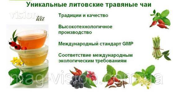 травяные чаи для похудения
