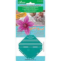Устройство для изготовления цветов Канзаши 8483 Clover