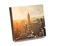 Забава Шкатулка-книга на магните CAS03003-5 Нью-Йорк 27,5*25,5*4,8см