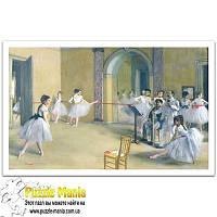 Пазл Pintoo - Балетный класс Оперы на улице Ле Пелетье, Дега (The Dance Foyer at the Opera on the rue Le Peletier)