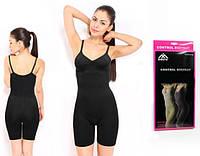 Боди корректирующее с шортиками Control Bodysuit, черный