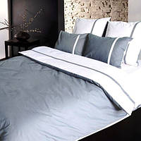 Двухспальное постельное белье ТЕП Дуэт серый