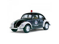 Машинка металлическая инерционная Volkswagen Classical Beetle (Police) KT 5057 РW Kinsmart