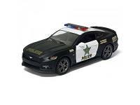 Машинка металлическая инерционная Ford Mustang GT (Police) KT5386WP Kinsmart