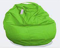 Пуф детский Груша зелёная