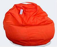 Пуф детский Груша оранжевая