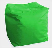 Пуф детский Куб зелёный