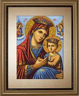 Luca-S В428 Икона Божьей Матери, набор для вышивания нитками