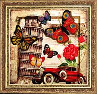 Butterfly 112 Привет из Италии, набор для вышивания бисером