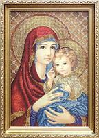 БС Солес МДЧ Мадонна с дитям (в красном), схема под бисер