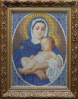 БС Солес МДШ Мадонна с дитям (благородство), схема под бисер