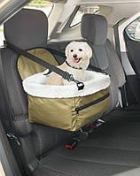 Автомобильная сумка Pet Booster Seat для перевозки животных для транспортировки животных в авто