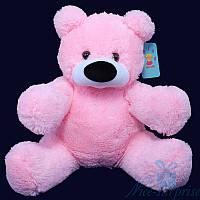 Огромная мягкая игрушка Плюшевый медведь Бублик 150 см (розовый)