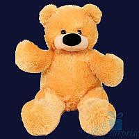 Большая мягкая игрушка Плюшевый медведь Бублик 150 см (жёлтый)
