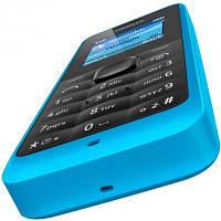 Недорогой кнопочный телефон с FM радио Nokia 105 DualSim Cyan