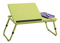 Столик - подставка для ноутбука лайм, салатовый