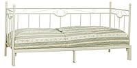 Кровать кушетка выдвижная металическая 80/160х200 см