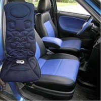 Автомобильная массажная накидка с подогревом TL- 2005 ZF подойдет как для авто так  и  для  дома