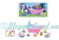 """Набор Свинка Пеппа/Peppa Pig """"Ванная комната"""": 7 фигурок в комплекте"""