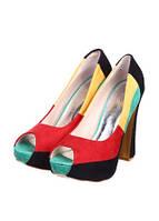Туфли цветные Бордо.