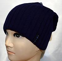 Стильная мужская шапка с кнопкой сзади, фото 1