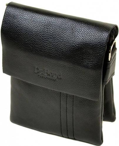 Практичная мужская сумка-планшет из искусственной кожи dr.Bond 88334-1 black