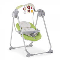 Кресло качалка Chicco Polly Swing Up Green 79110.51