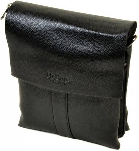 Оригинальная мужская вместительная сумка планшет из искусственной кожи dr.Bond 88337-3 black