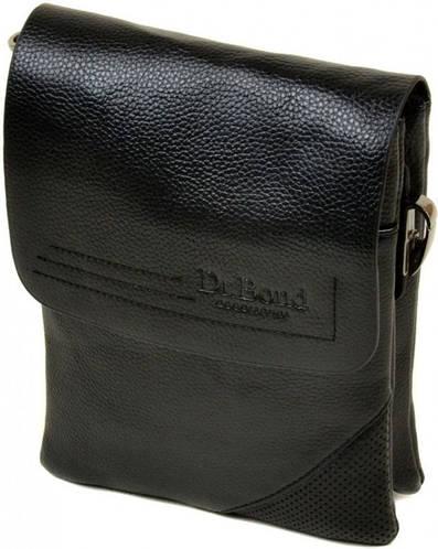 Замечательная мужская вместительная сумка планшет из искусственной кожи dr.Bond 88335-1 black