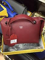Кожаная женская сумка Fendi