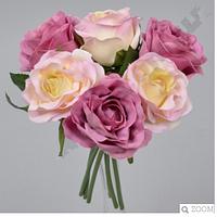 Искусственный букетик с розами