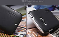 Чехол Nillkin для HTC Desire C чёрный (+пленка)