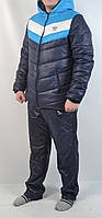 Мужской зимний спортивный костюм Адидас - 120-21