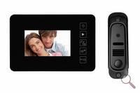 Видеодомофон цветной без трубки с памятью Jeja HK JS-438 RO комплект