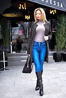 Стильное женское короткое пальто пояс в комплекте