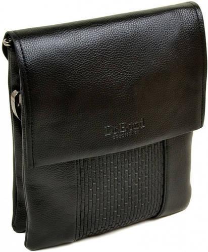 Прекрасная мужская сумка-планшет из искусственной кожи dr.Bond 88324-3 black