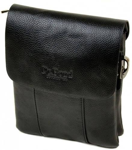 Стильная мужская сумка-планшет из искусственной кожи dr.Bond 88323-2 black