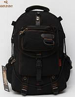 Удобный городской рюкзак Gold Be. Вместительный рюкзак. Рюкзак для походов и велопрогулок. Код: КТМ323.