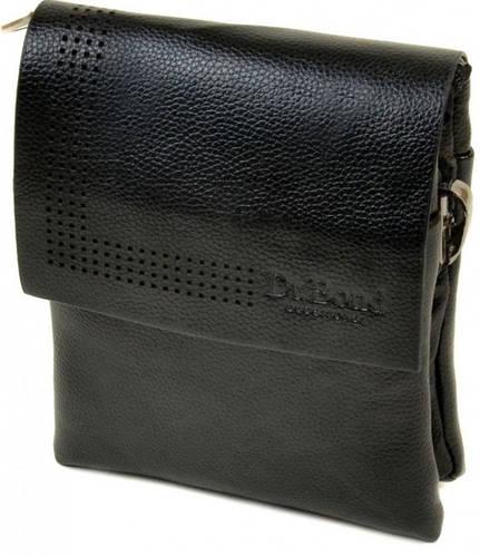 Удобная мужская сумка-планшет из искусственной кожи dr.Bond 88318-1 black